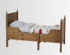 IKEA Extendable kid's bed - emapia.com